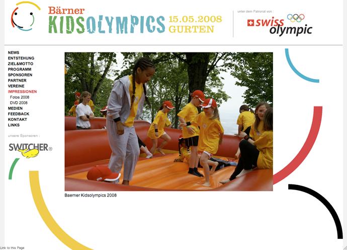 Our Company Ltd Project Barner Kids Olympics